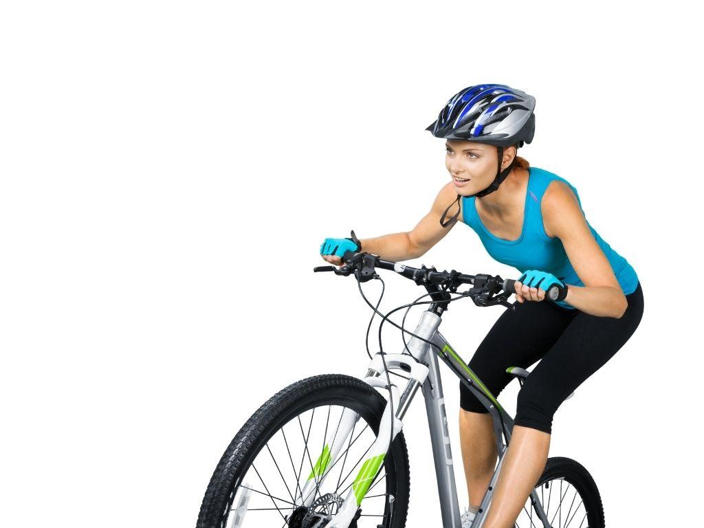 Разминка перед ездой на велосипеде
