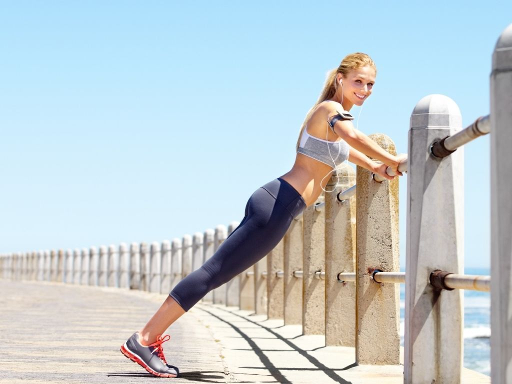 futás előtti bemelegítő gyakorlatok
